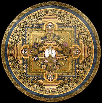 Mandala, Methods In Tantric Buddhism