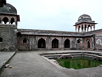 Palace of Baz Bahadur