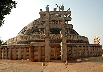 Sanchi Stupa Of Buddhist Architecture