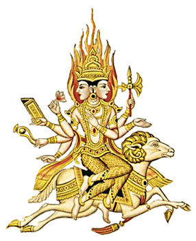 Lord Agni - One of the main Deity in Rig Veda