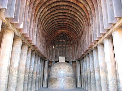 Bhaja Chaitya Hall In India