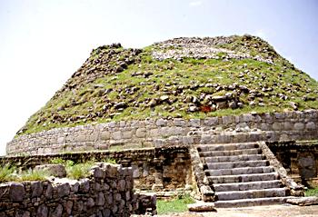Taxila's Dharmarajika stupa