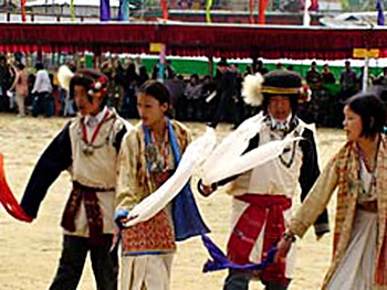 Chindang festival of West Kameng District