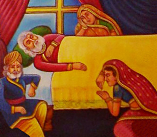 Death of Dasaratha, Ayodhya Kanda, Ramayana