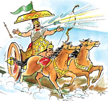 War between Lord Rama & Indrajeet, Yuddha Kanda, Ramayana