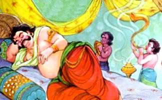 Awakening of Kumbhakarna, Yuddha Kanda, Ramayana