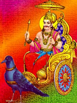 God Shani, Indian Mythology