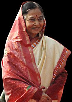 Pratibha Patil Indian President