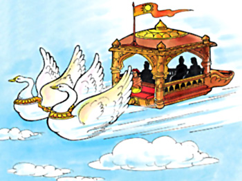 Rama Returns to Ayodhya