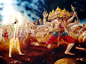 Ravana Mourned in Lanka, Yuddha Kanda, Ramayana
