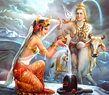 Shiva Accepts Love of Parvati