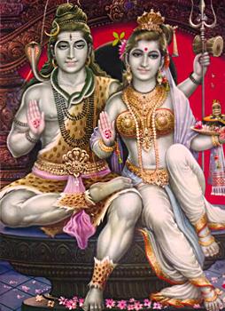 Wedding of Shiva-Parvati, Brahma Purana
