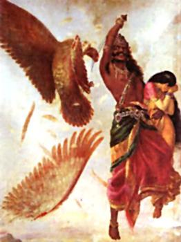 Sita's Abduction by Ravana
