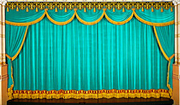 Drop curtain, Elements of Drama