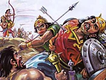 Defeat of Indrajit, Yuddha Kanda, Ramayana