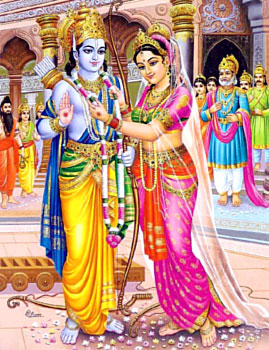 marriage of Rama Sita