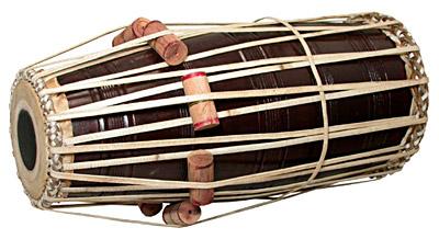 Pakhavaj  - Barrel Drums, Percussion Musical Instrument