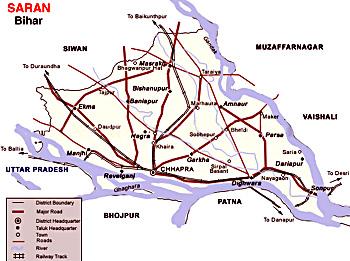 Saran District, Bihar