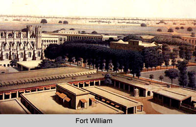 Interior of old Fort William - Kolkata, West Bengal