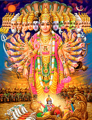 Vaishnavism in Puranas - Lord Vishnu is constantly upheld as the Supreme deity and the main cause of creation, sustenance and dissolution of the universe