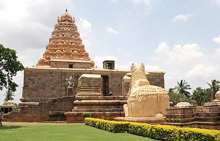 Kangaikonda cholapuram temple which was built by the King Rajendra Cholan of Chola's Empire - Ariyalur,Tamil Nadu