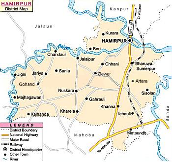 Hamirpur District, Uttar Pradesh