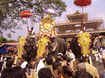 Ettamanurarattu festival