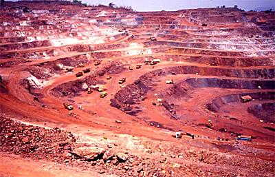 Mine at Dalli Rajhara, Durg, Chhattisgarh