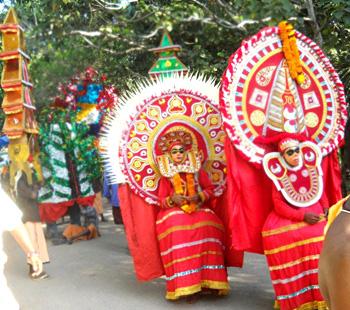 annual Ashtami Festivals of Vaikom Shiva Temple, Vaikom Temple