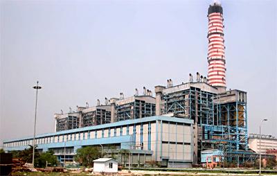 Dadri, Uttar Pradesh - Power Plant of the National Thermal Power Corporation