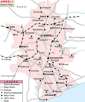 Amreli District, Gujarat