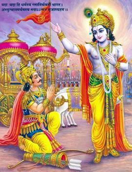 Bhagavad Gita reiterates that Isvara resides in the hearts of all beings and thereby controls their activities by his divine power