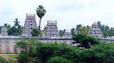 Temple at Cheyyar, Tamil Nadu