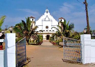 Roman Church in Tilamola - Curchorem Cacora, South Goa district of Goa