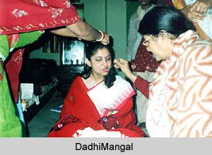 Dadhimangal, Ritual in Bengali Wedding