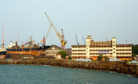 Chicalim, Goa - Murmugao Harbour