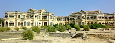 Huzoor Palace at Chhaya, Gujarat