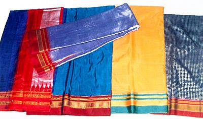 Hand woven Ilkal Sarees - Ilkal , Bagalkot District , Karnataka