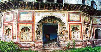 The main haveli of the Kalsia rulers in Chhachrauli, Harayana