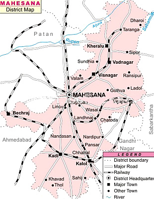 Mehsana District, Gujarat