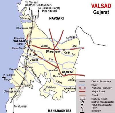 Valsad District, Gujarat
