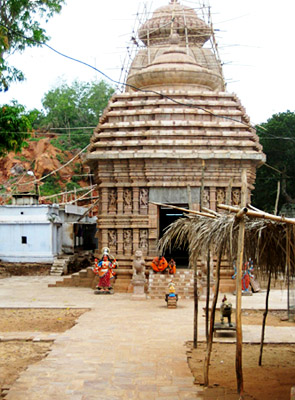 Newly Constructed Tara-Tarini Temple - Important places of Berhampur, Orissa
