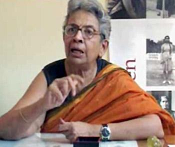 Dr. Vina Mazumdar