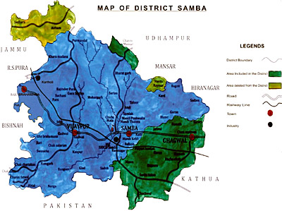 Samba District, Jammu and Kashmir