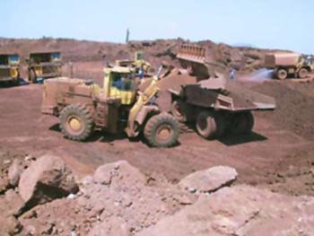 bauxite mines