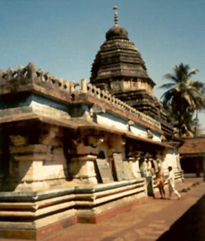 Gokarna Mahabaleswarar Temple, near Kollur, Karnataka