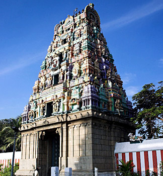 Marundishvarar Temple, Tiruvanmiyur, Tamil Nadu