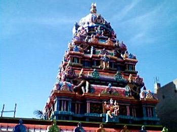 Sri Neelavarna Perumal Temple, Nanmangalam, Chennai