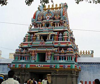 Sri Ulagalanda Perumal Temple, Kanchipuram, South India
