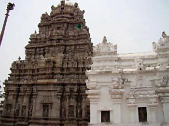 Srikurmam  Vishnu temple , Srikakulam , Andhra Pradesh